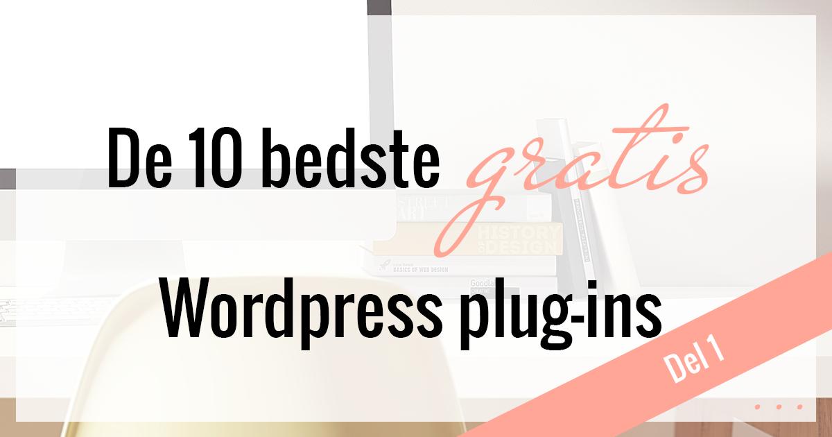 De bedste wordpress-plugins